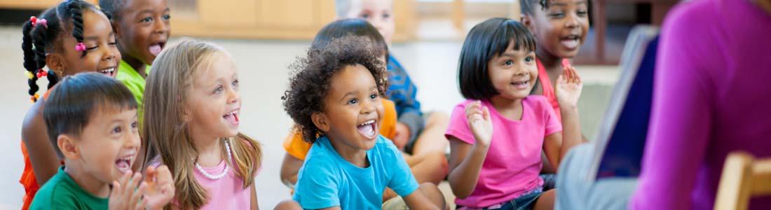 Children at Lee Christian Preschool